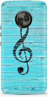 Music In Wood Designer Case For Motorola Moto X4