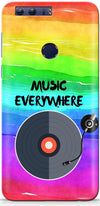 Music Is Everywhere Designer Case For Huawei Honor 8