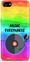 Music Is Everywhere Designer Case For Apple iPhone 8