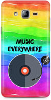 Music Is Everywhere Designer Case For Samsung Galaxy On5