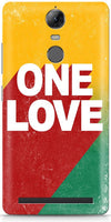 One Love Mobile Cases for Lenovo Vibe K5 Note