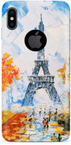 Paris In Winter Designer Case For Apple iPhone X