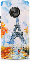 Paris In Winter Designer Case For Motorola Moto X4