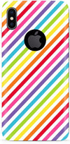 Rainbow Burst Mobile Cases for iPhone X