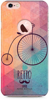 Retro Hipster Bicycle Designer Cases for iPhone 6