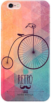 Retro Hipster Bicycle Mobile Cases for iPhone 6S