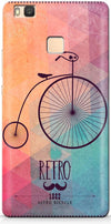 Retro Hipster Bicycle Mobile Cases for Huawei P9 Lite