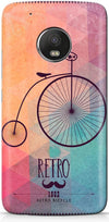 Retro Hipster Bicycle Mobile Covers for Motorola Moto G5