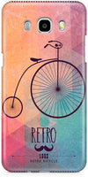 Retro Hipster Bicycle Mobile Cases for Samsung Galaxy J7 2016