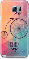 Retro Hipster Bicycle Designer Cases for Samsung Galaxy Note 5