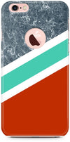 Stripes with Marble Mobile Covers for iPhone 6
