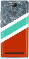 Stripes with Marble Mobile Covers for Lenovo Vibe K5 Note