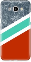 Stripes with Marble Designer Cases for Samsung Galaxy J7 2016