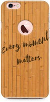 Wood Quote Designer Cases for iPhone 6