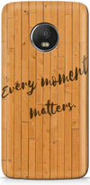 Wood Quote Mobile Covers for Motorola Moto G5