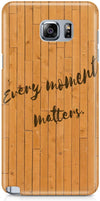 Wood Quote Designer Cases for Samsung Galaxy Note 5