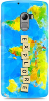 World Map Mobile Covers for Lenovo Vibe K4 Note