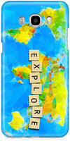 World Map Mobile Cases for Samsung Galaxy On8
