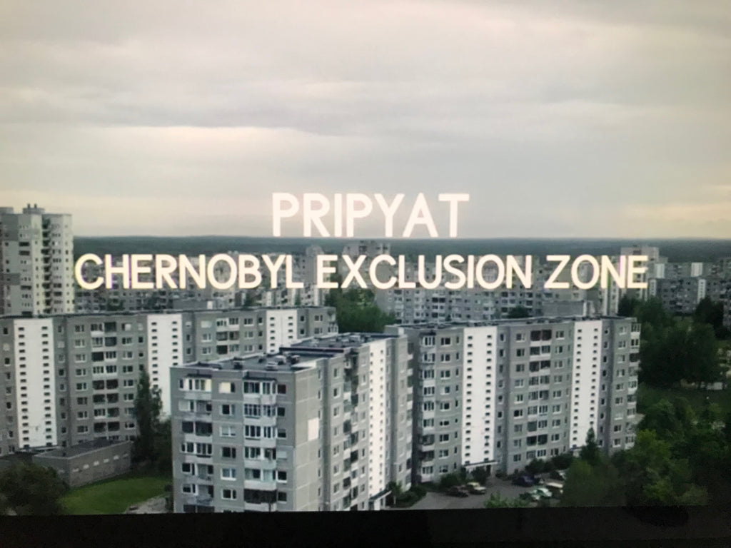 HBO Chernobyl series typography