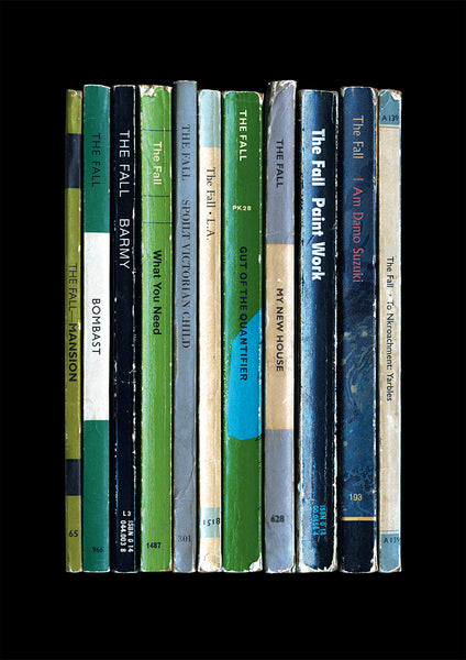 The Fall album 'This Nation's Saving Grace' reimagined as Penguin Books by Standard Designs