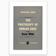 The Picture of Dorian Gray by Oscar Wilde Recession Books Print