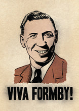 George Formby Poster by Standard Designs