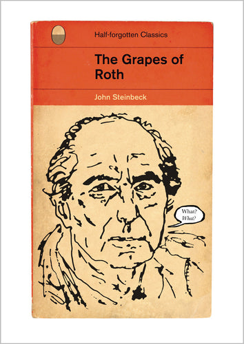 John Steinbeck The Grapes Of Wrath Book Cover Print
