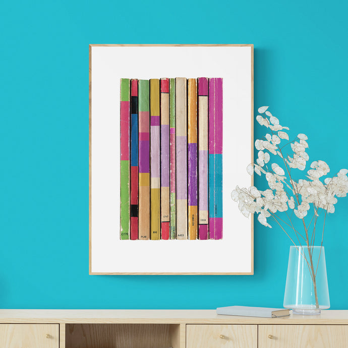 New Vintage Book Print Number 2 - The Diagonal Band