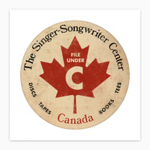 Canadian Singer Songwriter Poster Print  Edit alt text