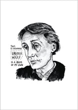 Virginia Woolf Portrait Poster Print