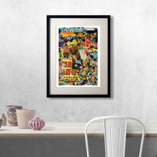 Hollywood Movie Poster Modern Art Collage Print