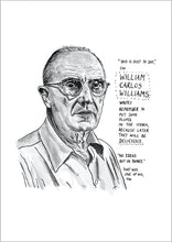 William Carlos Williams Portrait Poster Print