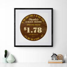 Record Cover Sticker Art Print
