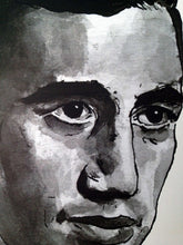 JD Salinger Portrait Poster Print in detail