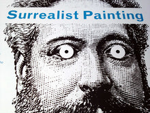 Surrealist Painting Exhibition Poster Print in detail
