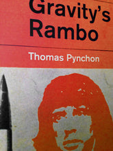 Thomas Pynchon Gravity's Rainbow or Rambo Book Cover Poster Print in detail
