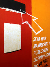 'Authors!' Advice For Writers Post Box Poster Print in detail