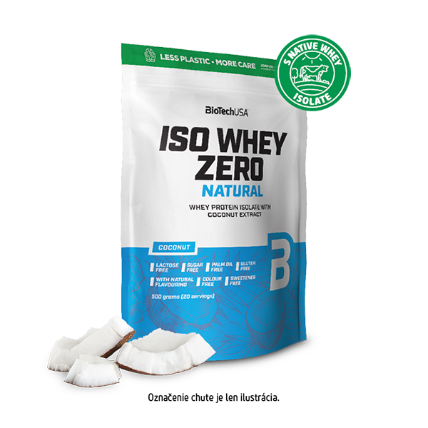 Image of Iso Whey Zero Natural- 500 g