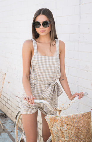 Almost Famous Playsuit (white)
