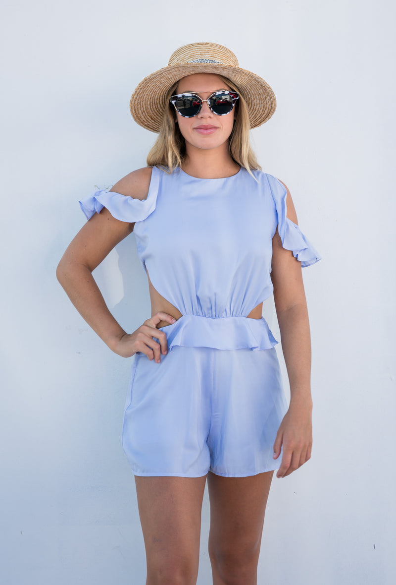 The Dreamer Playsuit - West & Rose