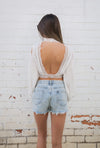 Tessa Crop Top - West & Rose