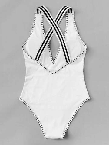 Criss Cross Swimsuit - West & Rose