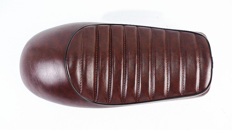 Selle Marron  VINTAGE RACING plusieurs variantes - REMMOTORCYCLE