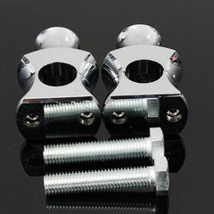 Pontets de Guidon de 22 mm Chrome ou Noir - REMMOTORCYCLE