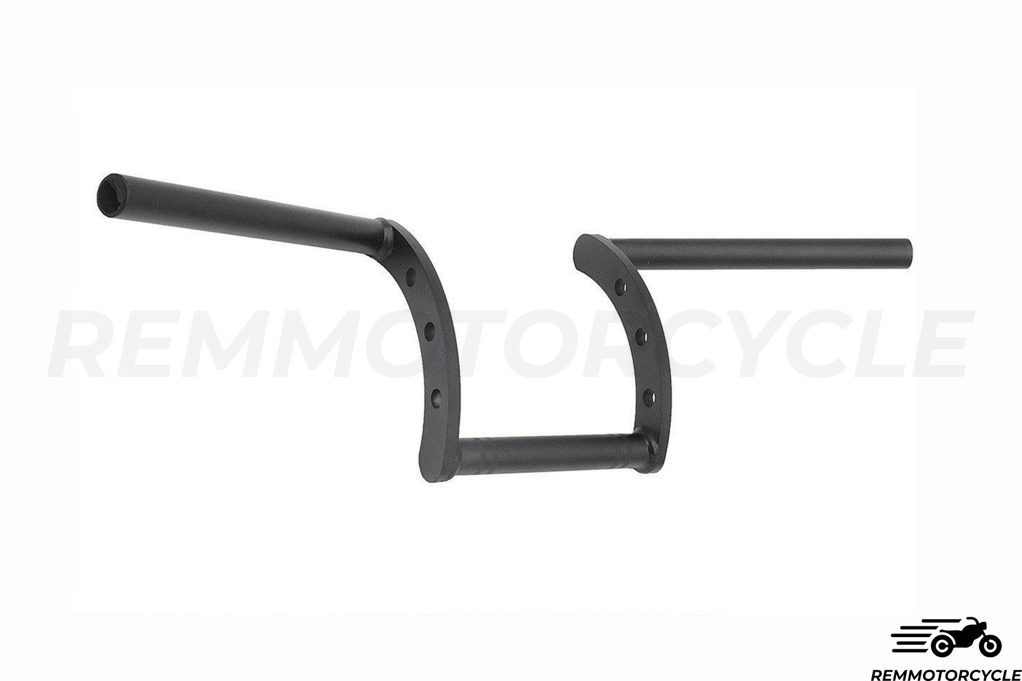 Guidon 22 ou 25 mm Z-BAR Noir Mat ou Chrome
