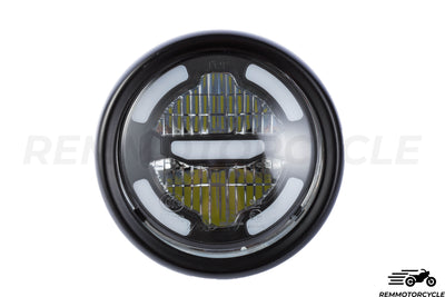 Phare Avant 16.5 LED Chrome ou Noir