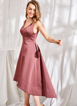 Audrey Dress, Tea Rose