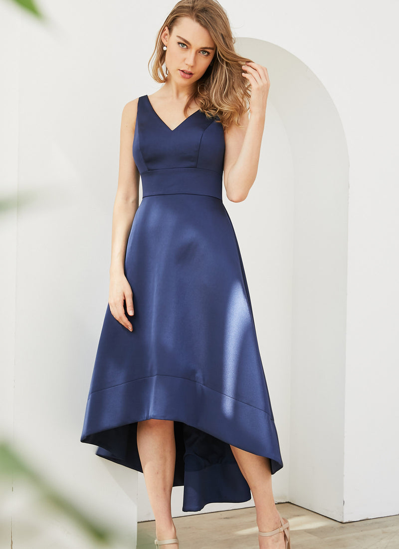 Audrey Dress, Navy