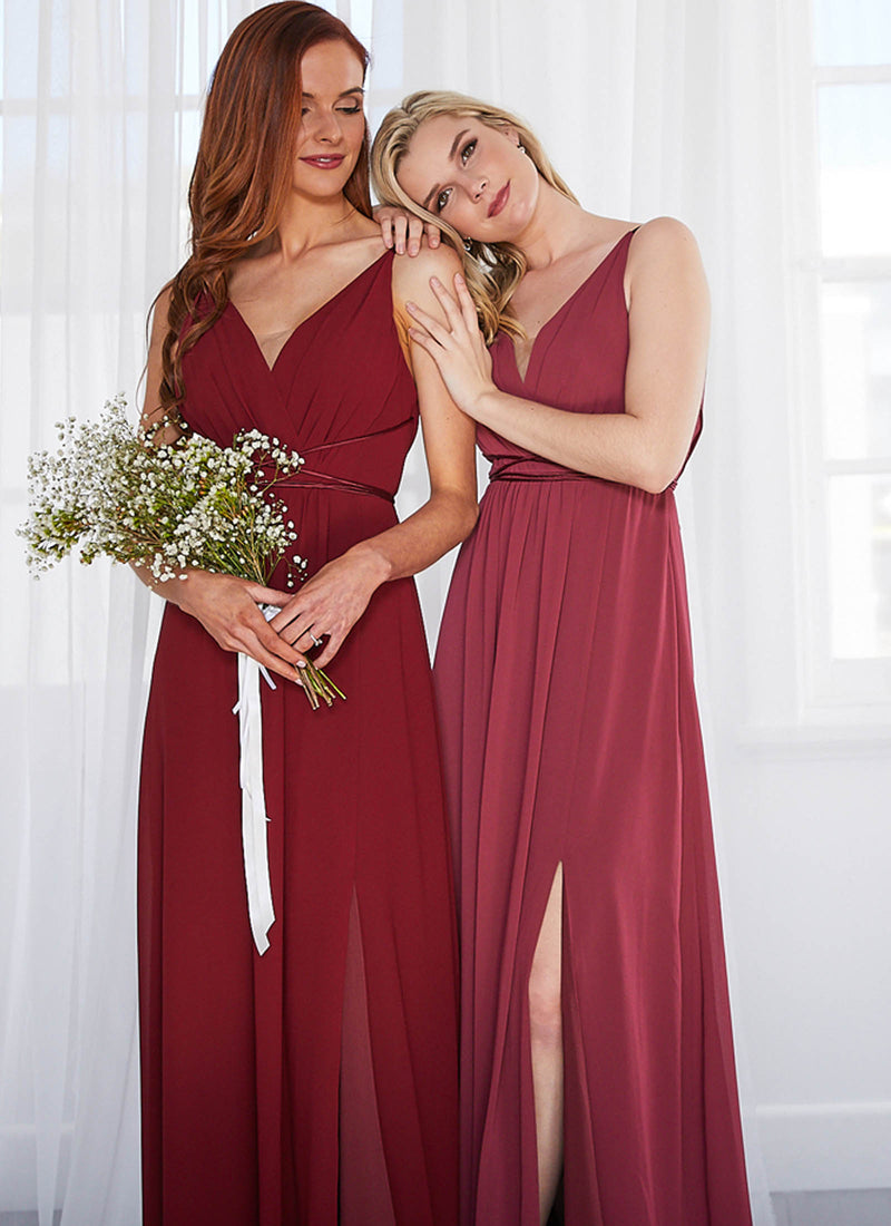 Aries Dress, Dark Burgundy