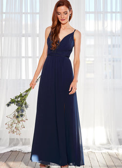Aries Dress, Navy